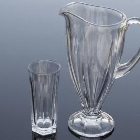 Set carafa si pahare cristal suc - VICTORIA