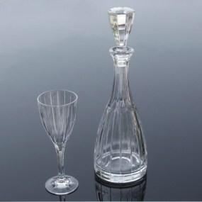 Set sticla si pahare cristal Vin - CAREN