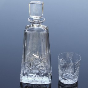 Set sticla si pahare cristal whisky - IMPERIAL v2