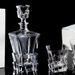Set pahare si sticla Cristal pentru whisky - HAVANA 2