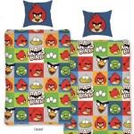 lenjerie de pat copii Angry Birds AB-129