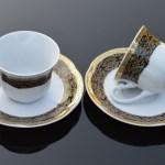 Set Cesti Cafea din Portelan - BOLERO NOIR