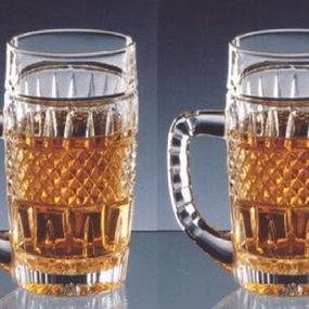 Set 2 halbe bere din cristal BRITTANY