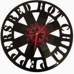Ceas disc vinil RED HOT CHILI PEPPERS