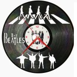 Ceas disc vinil - THE BEATLES