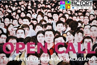 OPEN CALL – THE FACTORY URBANLAB_Palagiano