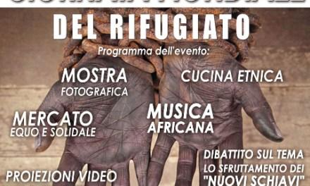 """20 Giugno, Giornata Mondiale del rifugiato a Palagiano dal tema: contro le nuove schiavitù….Palagiano non """"Tratta"""""""