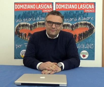 Giuseppe Favale intervista il candidato sindaco Domiziano Lasigna