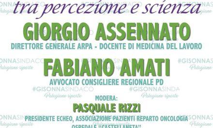 1 aprile Palagiano convegno con Assennato e Amati su ambiente e salute