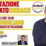 """""""Carlo Corigliano Candidato Sindaco M5S e gli attivisti sono pronti a partire""""."""