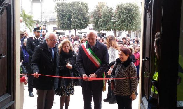 PALAGIANO (TA). Anche il prefetto di Taranto, alla presentazione del museo civico