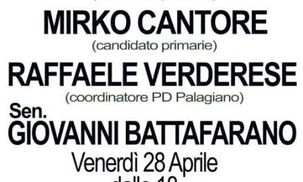 Primarie pd Palagiano: venerdì 28 aprile ore 18 aula consigliare si presenta mozione orlando