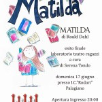 """Teatro a Palagiano: """"Matilda"""", tratto dal romanzo di Roald Dahl"""