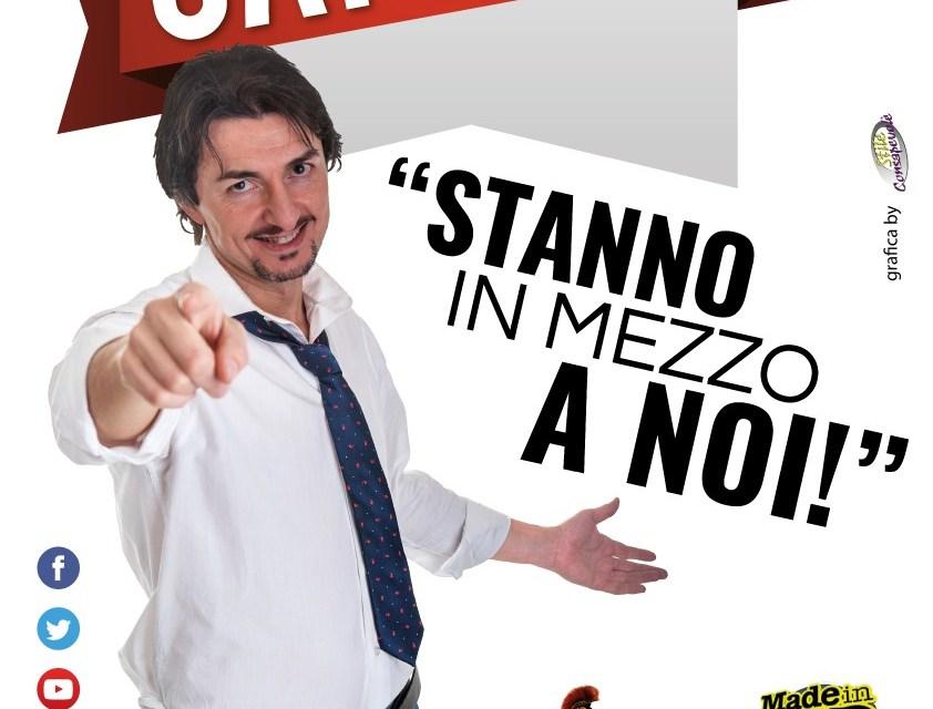 """""""Stanno in mezzo a noi"""", Marco Capretti a Palagiano"""