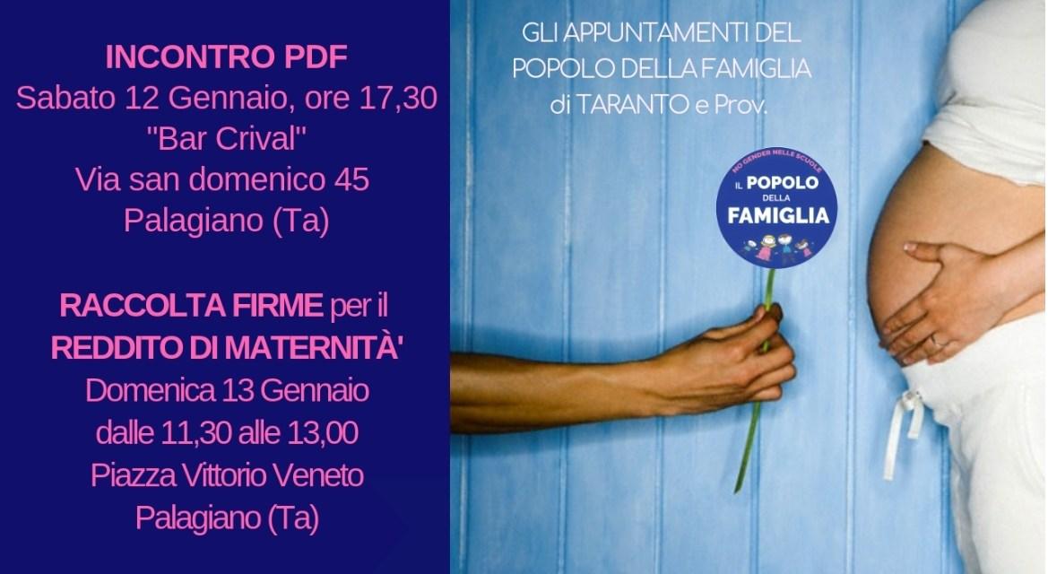 IL POPOLO DELLA FAMIGLIA di Taranto e Prov. si incontra a Palagiano