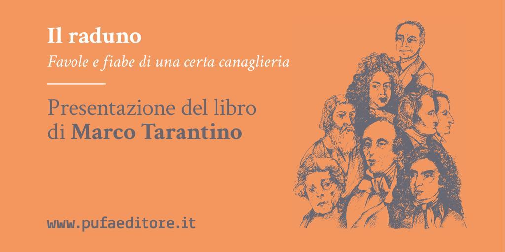 """""""Il raduno"""". A Palagiano presentazione del libro di Marco Tarantino"""