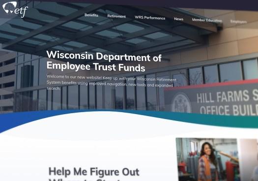 Wisconsin Department of Employee Trust Funds website