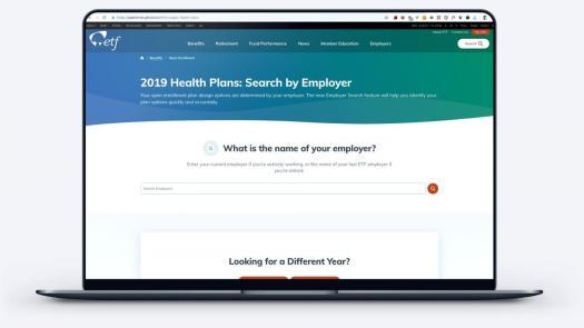 New employee benefits explorer page
