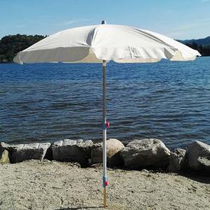 Beach parasol support