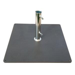 Walkable metal base