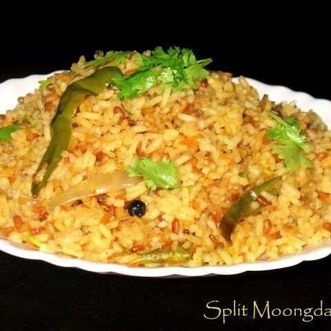 moong Dal rice