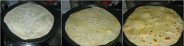 Bili Holige |Stuffed Rice Flour Paratha | Rice Flour Puran Poli