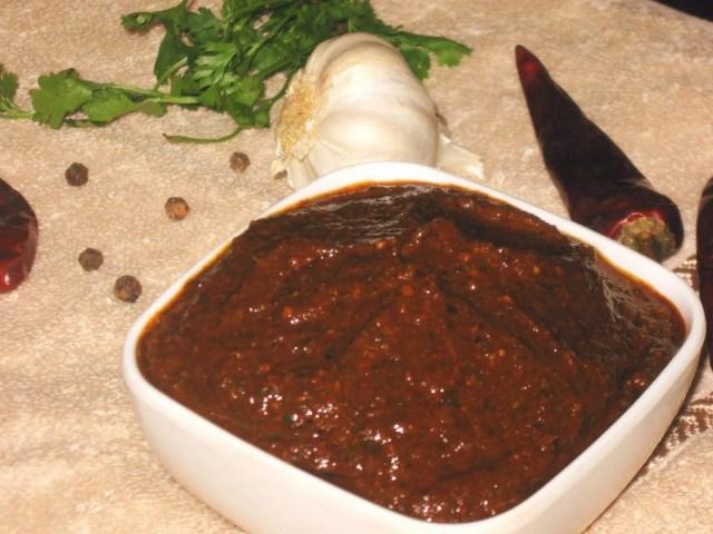 UpSaaru Khara Recipe | Spicy Red Curry Paste Recipe