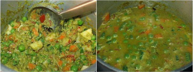 Mixed Vegetable Saagu