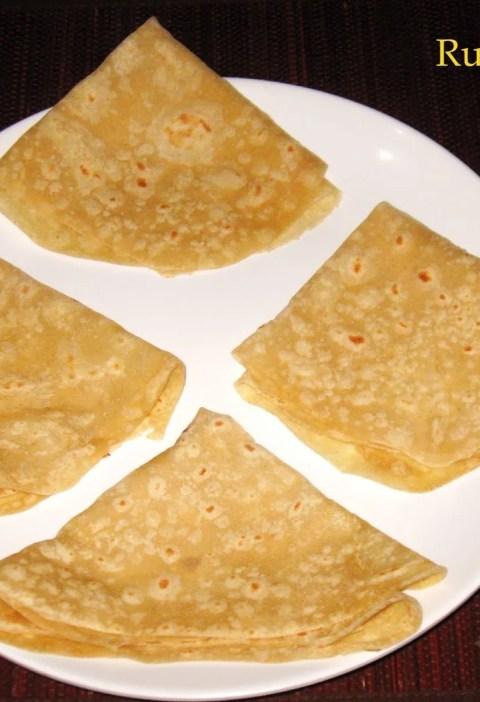 Wheat Flour Rumali Roti
