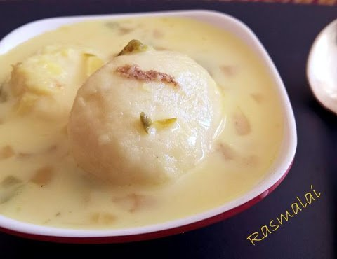Rasmalai Recipe | Easy Rasmalai Recipe