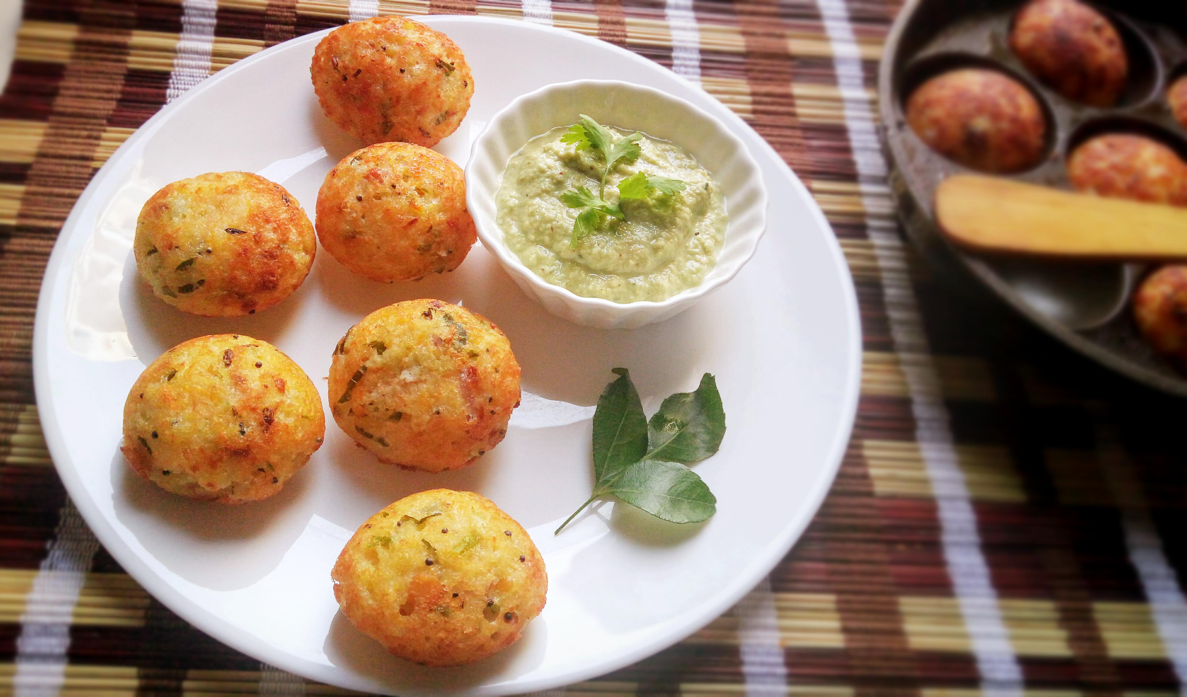 Instant Rava Paddu | Instant Sooji Appe