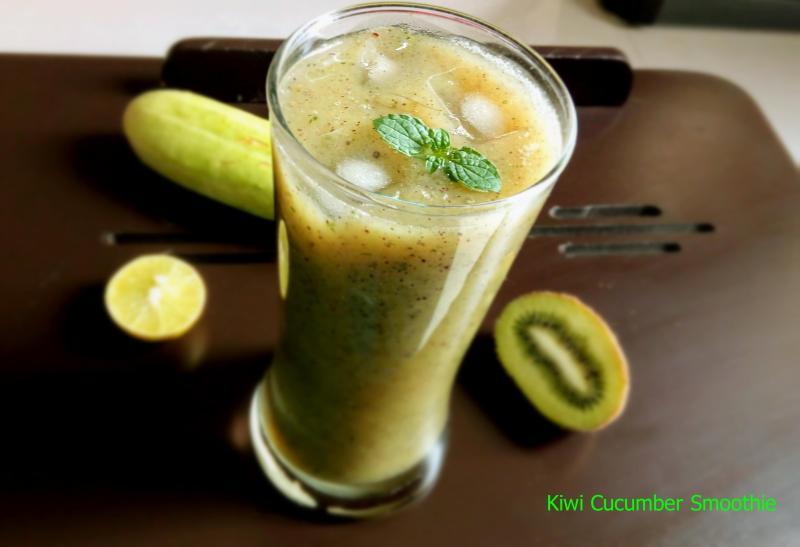 Kiwi Cucumber Smoothie