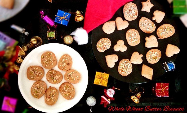 wholewheat butter biscuits