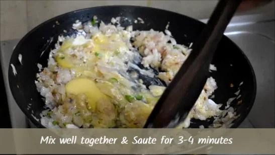 Onion Egg Bhurji