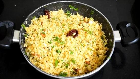 Mavinakayi Chitranna | Raw Mango Rice