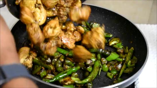 Chilli Capsicum Chicken