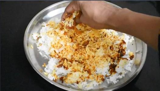 Heralekai Chitranna   Citron Lime Rice