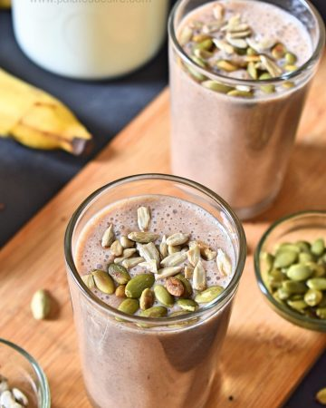 Ragi banana Smoothie