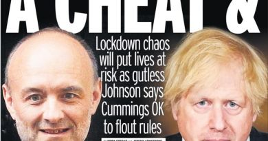 Dominic Cummings: chaos, confusion, dishonesty