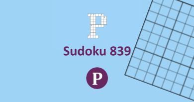 Sudoku 839 Banner