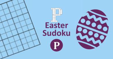 Easter Sudoku Title Image