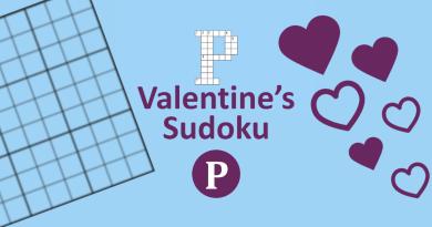 Valentine's Sudoku Header Image