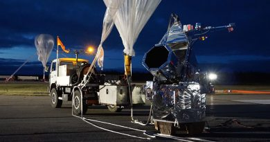 Durham astronomers team with NASA to launch telescope tethered to giant balloon