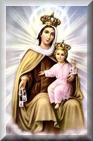 Terço a Nossa Senhora do Carmo