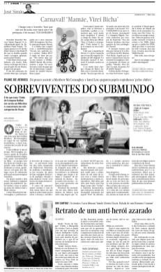 Crítica de cinema sobre concorrente ao Oscar 'Clube de Compras Dallas', para o Caderno C, doq ual era editora (27/2/2014)
