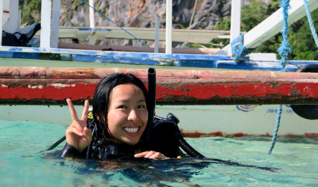 discovery scuba course day