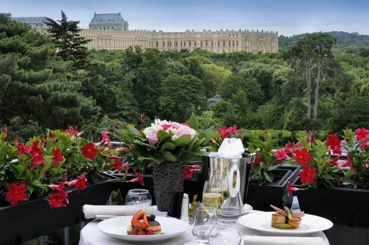 Palazzani hotel trianon palace versaille esterno #2