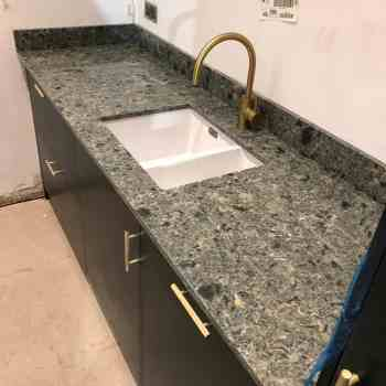 green quartz worktop, cambria quartz worktop