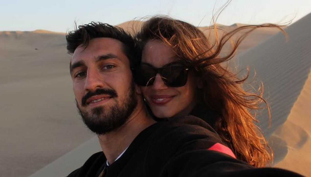 """Francesca Fioretti ricorda Astori: """"Io e Davide dovevamo camminare insieme, invece siamo soli. Tutti e due"""""""