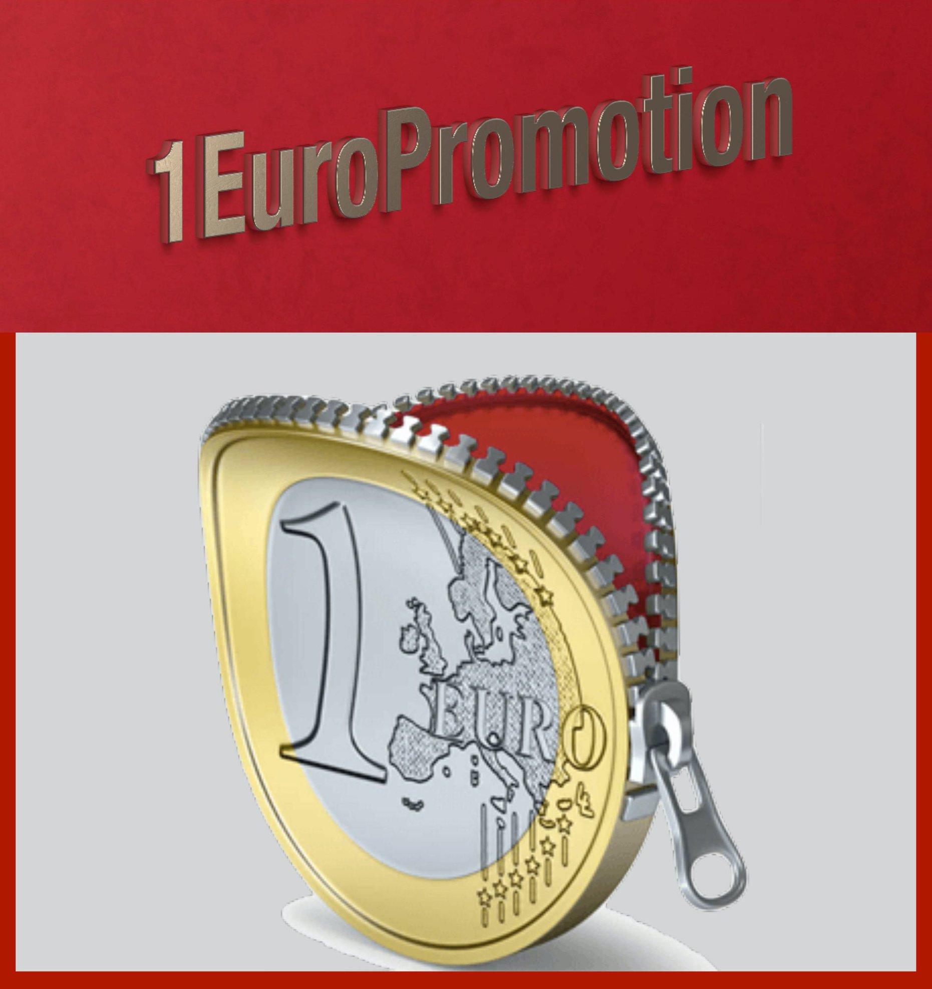 Arriva l'operazione 1Euro Promotion per sostenere artisti e scrittori